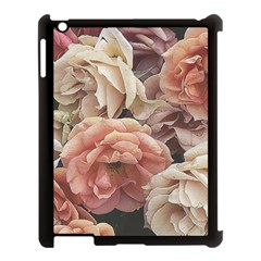 Great Garden Roses, Vintage Look  Apple Ipad 3/4 Case (black)