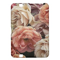 Great Garden Roses, Vintage Look  Kindle Fire Hd 8 9