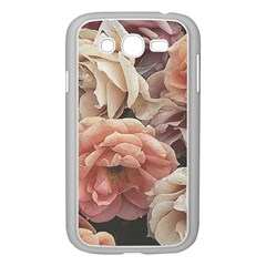 Great Garden Roses, Vintage Look  Samsung Galaxy Grand Duos I9082 Case (white)