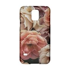 Great Garden Roses, Vintage Look  Samsung Galaxy S5 Hardshell Case