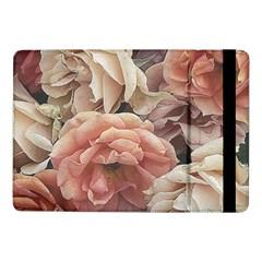 Great Garden Roses, Vintage Look  Samsung Galaxy Tab Pro 10 1  Flip Case