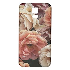 Great Garden Roses, Vintage Look  Samsung Galaxy S5 Back Case (white)