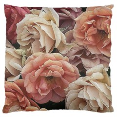 Great Garden Roses, Vintage Look  Standard Flano Cushion Cases (Two Sides)