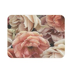 Great Garden Roses, Vintage Look  Double Sided Flano Blanket (mini)