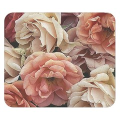 Great Garden Roses, Vintage Look  Double Sided Flano Blanket (Small)