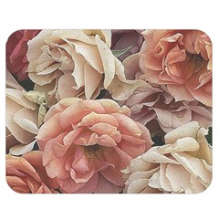 Great Garden Roses, Vintage Look  Double Sided Flano Blanket (medium)