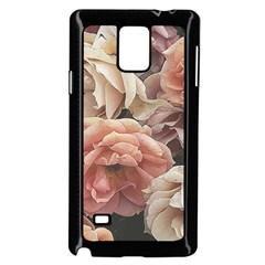 Great Garden Roses, Vintage Look  Samsung Galaxy Note 4 Case (Black)