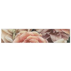Great Garden Roses, Vintage Look  Flano Scarf (Small)