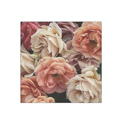 Great Garden Roses, Vintage Look  Satin Bandana Scarf