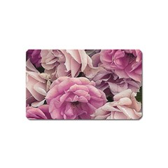 Great Garden Roses Pink Magnet (name Card)