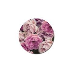 Great Garden Roses Pink Golf Ball Marker
