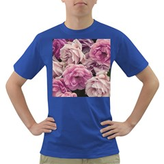 Great Garden Roses Pink Dark T Shirt