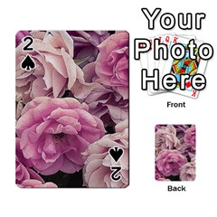 Great Garden Roses Pink Playing Cards 54 Designs