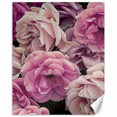 Great Garden Roses Pink Canvas 16  X 20