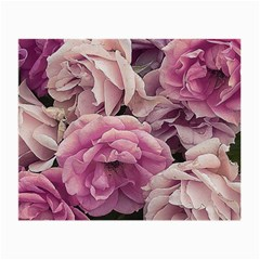 Great Garden Roses Pink Small Glasses Cloth (2 Side)