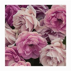 Great Garden Roses Pink Medium Glasses Cloth (2 Side)