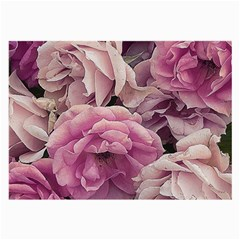 Great Garden Roses Pink Large Glasses Cloth (2 Side)