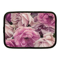 Great Garden Roses Pink Netbook Case (medium)