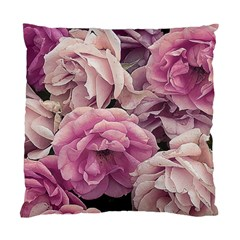 Great Garden Roses Pink Standard Cushion Case (one Side)