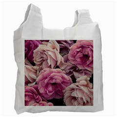 Great Garden Roses Pink Recycle Bag (two Side)
