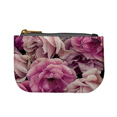 Great Garden Roses Pink Mini Coin Purses