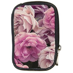 Great Garden Roses Pink Compact Camera Cases