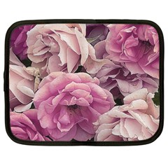 Great Garden Roses Pink Netbook Case (xxl)