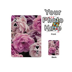 Great Garden Roses Pink Playing Cards 54 (Mini)
