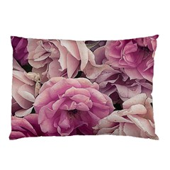 Great Garden Roses Pink Pillow Cases (two Sides)