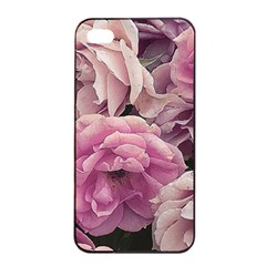 Great Garden Roses Pink Apple iPhone 4/4s Seamless Case (Black)