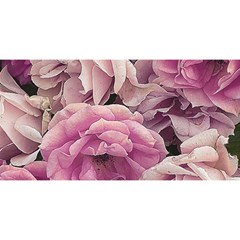 Great Garden Roses Pink YOU ARE INVITED 3D Greeting Card (8x4)