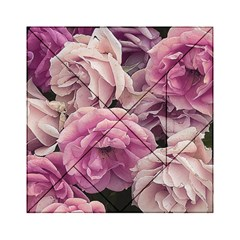 Great Garden Roses Pink Acrylic Tangram Puzzle (6  X 6 )
