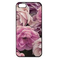Great Garden Roses Pink Apple Iphone 5 Seamless Case (black)