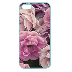 Great Garden Roses Pink Apple Seamless Iphone 5 Case (color)
