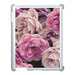 Great Garden Roses Pink Apple Ipad 3/4 Case (white)