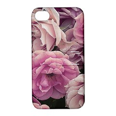 Great Garden Roses Pink Apple iPhone 4/4S Hardshell Case with Stand