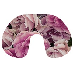 Great Garden Roses Pink Travel Neck Pillows