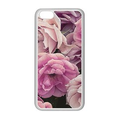 Great Garden Roses Pink Apple Iphone 5c Seamless Case (white)