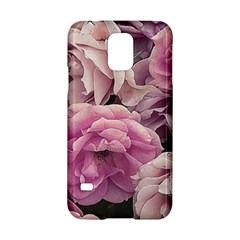 Great Garden Roses Pink Samsung Galaxy S5 Hardshell Case