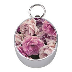Great Garden Roses Pink Mini Silver Compasses