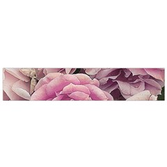 Great Garden Roses Pink Flano Scarf (small)