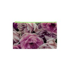 Great Garden Roses Pink Cosmetic Bag (XS)