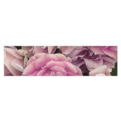 Great Garden Roses Pink Satin Scarf (Oblong)