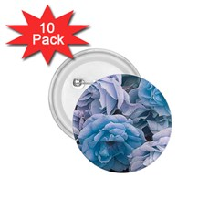 Great Garden Roses Blue 1 75  Buttons (10 Pack)