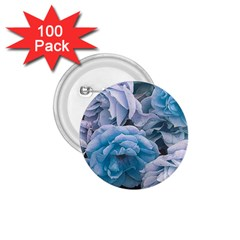 Great Garden Roses Blue 1 75  Buttons (100 Pack)
