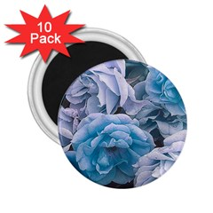 Great Garden Roses Blue 2 25  Magnets (10 Pack)