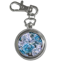 Great Garden Roses Blue Key Chain Watches