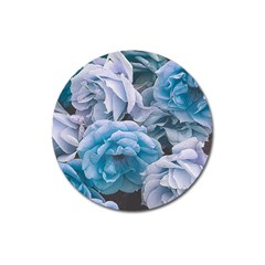 Great Garden Roses Blue Magnet 3  (round)