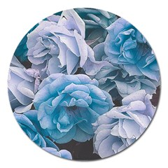 Great Garden Roses Blue Magnet 5  (round)