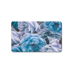 Great Garden Roses Blue Magnet (name Card)